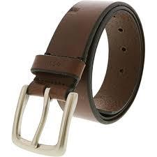 fossil men s joe leather belt for