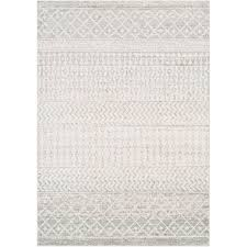 gray white area rug reviews wayfair