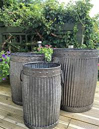 dolly tub planter plant pots containers