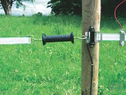 40mm End Strain Gate Hook Insulator Electric Fencing Fence 40mm Handle Poly Ebay
