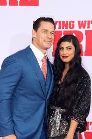 John Cena and Shay Shariatzadeh ...