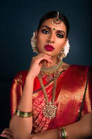 makeup looks for south indian brides
