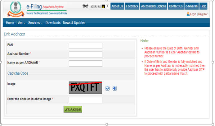 """Image result for link pan card to aadhar"""""""