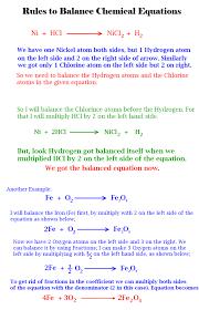 balancing chemical equations grade 9