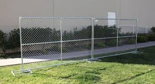Temporary Chain Link Fence Panels For Construction Sites
