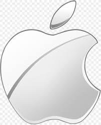 apple logo desktop wallpaper silver