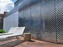 Perforated Metal Perforated Metal Manufacturer Palisade Fence 3d Panel Security Fence Industry Leader Hangto Facade Cladding Perforated Metal Exterior Cladding