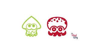 Splatoon Inkling Or Octoling Vinyl Sticker Inspired By Etsy Vinyl Sticker Squid Decal Vinyl