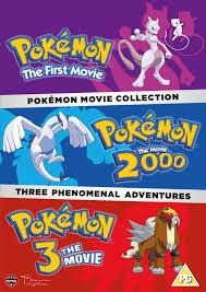 Pokemon Movie Collection (Pokemon The First Movie, Pokemon The ...