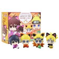 Model Toy 4pcs/lot Naruto Boruto Uzumaki Sasuke Uchiha Figure Toy ...