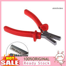 Aloh Small Electric Cables Wire Ferrules Steel Crimper Plier Crimping Hand Tool Shopee Philippines