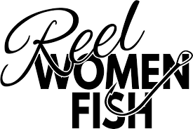 Reel Women Fish Fishing Decal North 49 Decals