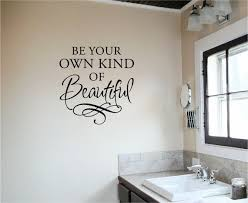 Be Your Own Kind Of Beautiful Removable Vinyl Wall Art Decal Home Decor Sticker Salon Decor Home Salon Beauty Salon Decor