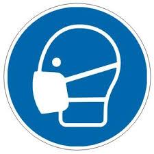 Gebotszeichen-3-M016-Mundschutz Maske benutzen-DIN EN ISO 7010   Gebotszeichen   Kennzeichnung   Schilder   Josef Kühl GmbH · Stempel · Schilder · Aufkleberdruckerei