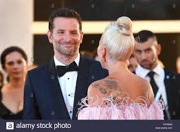 Lady Gaga & Bradley Cooper attend the 75th Venice Film Festival screening  of A Star Is Born at Palazzo del Casino in Venice. 31.08.18 © Paul Treadway  Stock Photo - Alamy