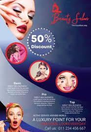makeup beauty studio free flyer