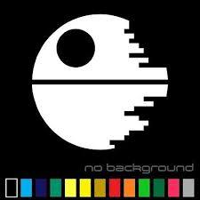 Star Wars Death Star Sticker Vinyl Decal Sith Empire Car Window Bumper Decor Ebay