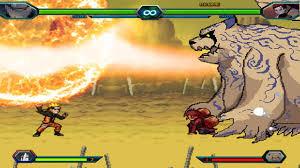 Naruto VS Gaara & Shukaku - Bleach VS Naruto (Modded) - YouTube