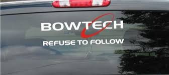 Bowtech Bows 2 Color Hunting Rear Window Decal 9 X 24 Cars Boats Vehicles Parts Webstore Online Auction