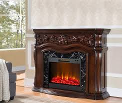 62 grand cherry electric fireplace at