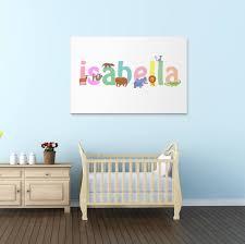 Isabella Wall Canvas Isabella Wall Art Isabella Animal Art Etsy