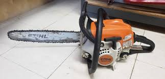 stihl chainsaw skroli
