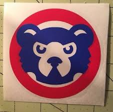 Chicago Cubs Decal For Your Yeti Rambler Tumbler Rtic Ebay