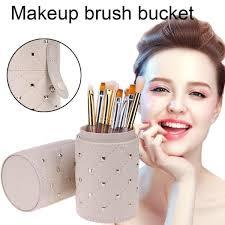 makeup brushes bag pen holder storage