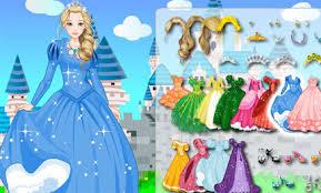 beautiful princess dress up game