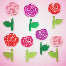 Zoomie Kids Small Rose Garden Window Decal Wayfair