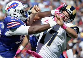 Adolphus Washington, Buffalo Bills DT, arrested on weapons charge ...
