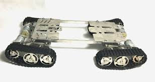 tank robot diy chassis smart track with
