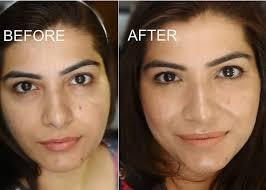 strobing makeup on indian skin before