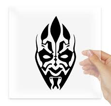 Darth Maul Star Wars Dark Side Decal Etsy In 2020 Star Wars Sith Star Wars Stencil Star Wars Tattoo