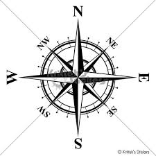 Compass Wall Decal The Charles Nautical Home Decor For Walls Ceilings And More K552 Compass Rose Compass Rose Tattoo Compass Tattoo
