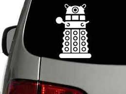 Doctor Who Dalek Vinyl Decal Car Truck Wall Sticker Choose Size Color Ebay