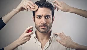 apply camera friendly makeup for men