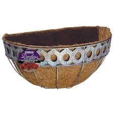 gardman ss wall basket with liner