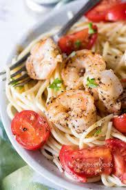 garlic shrimp pasta centsless meals