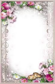 free wedding photo frame psd