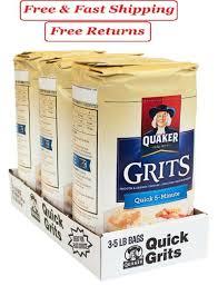 quaker quick 5 minute grits 5 lb 3