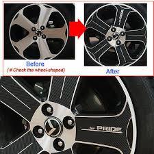 2010 Rio Rio5 All New Pride 17inches Tire Carbon Wheels Mask Decal Sticker Car Ebay