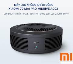 Máy Lọc Không Khí Thông Minh Trên oto Xiaomi 70MAI Pro Midrive ...