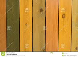 Wet Yellow Green And Orange Color Wooden Fence Pattern Stock Image Image Of Brown Backrest 103196935