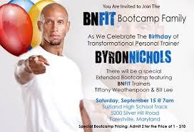 Come Celebrate the Birthday of Byron Nichols | BNFITDC