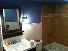 basement bathroom one mans quest to