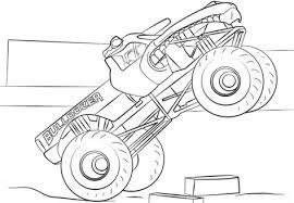 Bulldozer Monster Truck Kleurplaat Kolorowanki