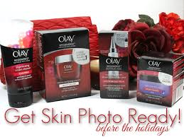 camera ready for the holidays with olay