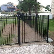 Durables 4 High Parma Picket Fence Black Durables Fence Styles Quick Ship Aluminum Fence
