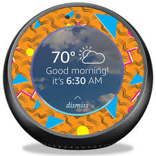 Vision Graphic Mightyskins Skin For Amazon Echo 90s Tiger Protective Durable And Unique Vinyl Decal Wrap Cover Easy To Apply Remove And Change Styles Made In The Usa Rakuten Com